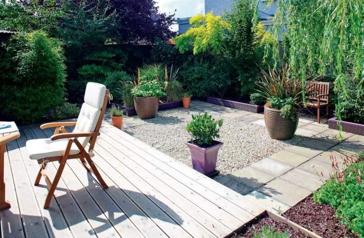 Gartengestaltung für kleine Gärten - Ideen, Bilder, Beispiele - gartengestaltung kleine garten