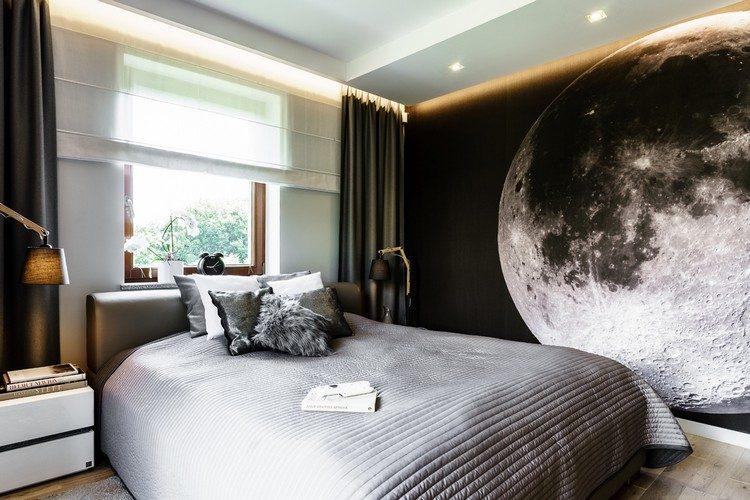 Fototapete Schlafzimmer Decke | Einzimmerwohnung Einrichten ...