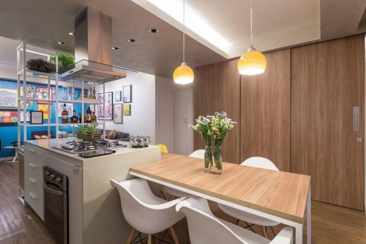 Offene Wohnküche modern gestalten \ trennen - Ideen für die - moderne kuche gestalten