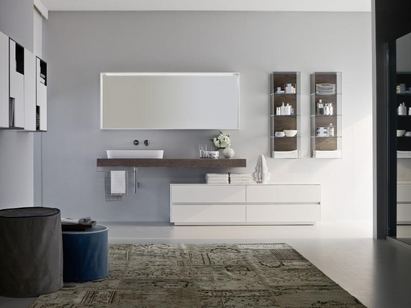 moderne badezimmermöbel holz | gispatcher.com. best hochglanz ...