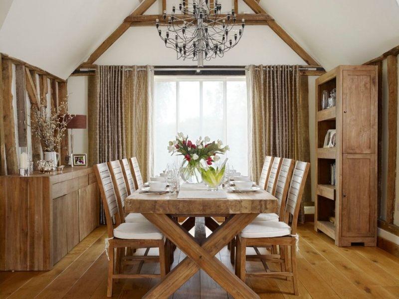 Einrichten im Landhausstil - 50 moderne und wohnliche Ideen - esszimmer im landhausstil