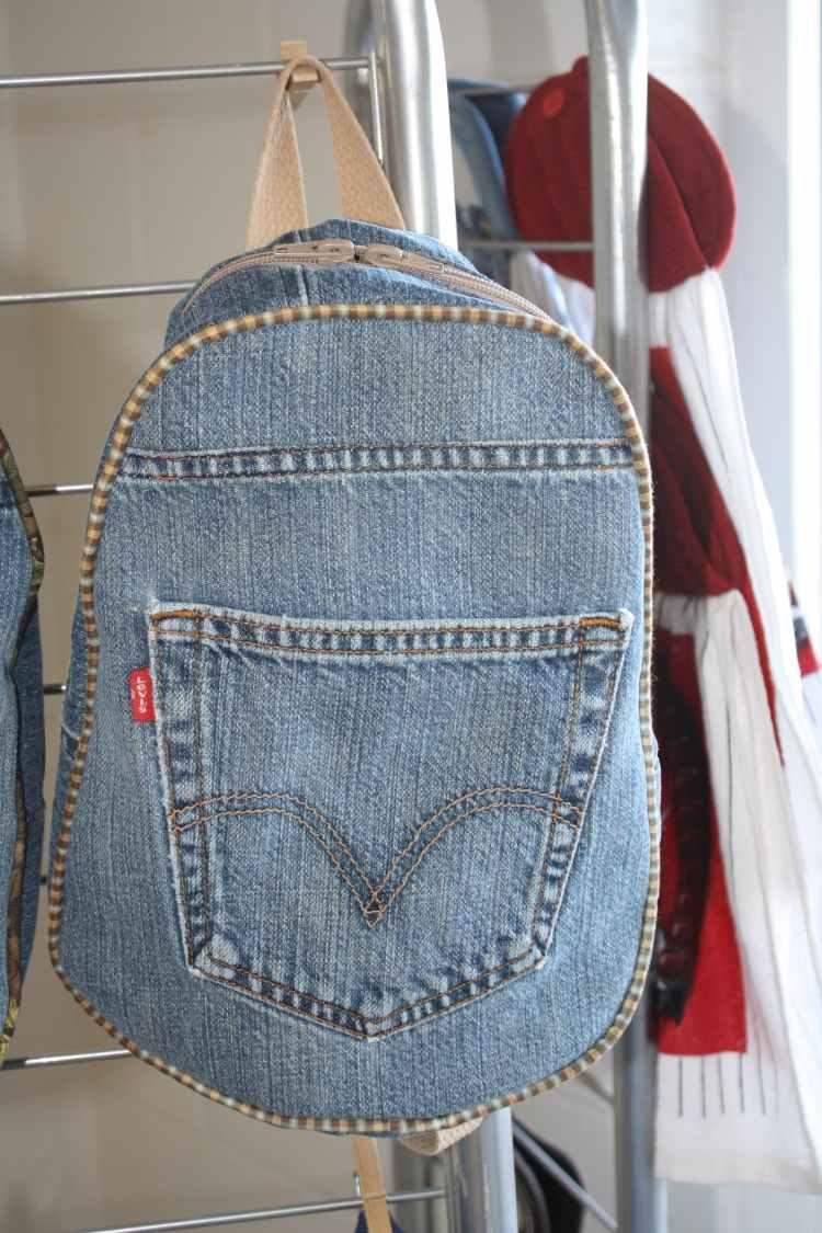 Alte Jeans Verwerten Was Neues Kann Man Basteln