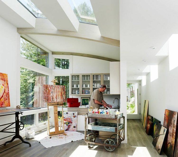 emejing home office mit ausblick design bilder photos - house ... - Home Office Mit Ausblick Design Bilder