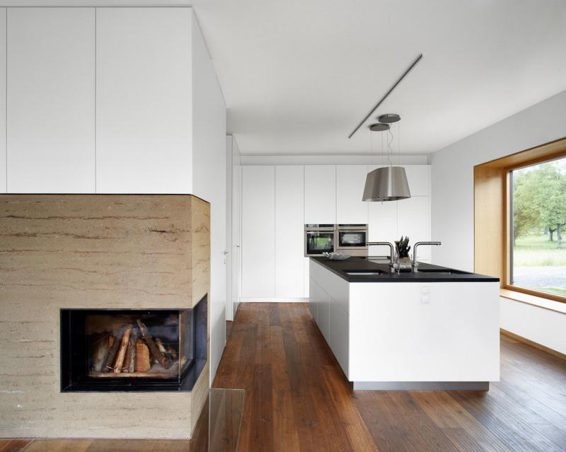 Moderne Einbaukuche Besticht Durch Minimalistische Asthetik - moderne einbaukuche besticht durch minimalistische asthetik