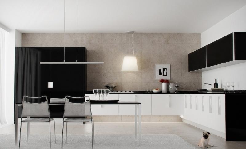 Moderne Küchen - 50 Bilder und kreative Einrichtungsideen - weise moderne kuche