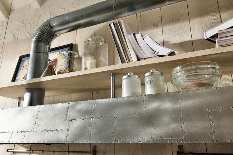 Schön Vintage Kuche Holz Stahl Design Bilder Villawebinfo   Kuchenwerkzeuge Aus Holz  Valentin Bussard