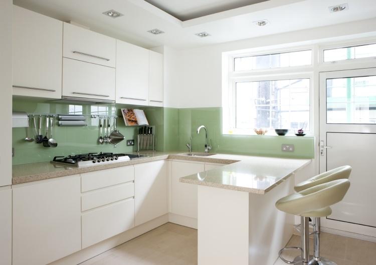 Küche Wandgestaltung   25 Ideen Mit Farbe, Tapete Und Mehr   Wandgestaltung  In Der Kuche