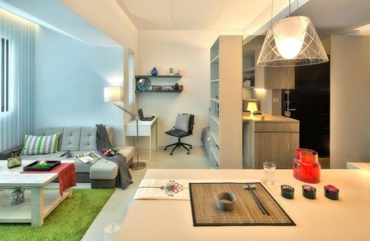 1 Zimmer Wohnung einrichten - 13 Apartments als Inspiration - 50 qm wohnung einrichten