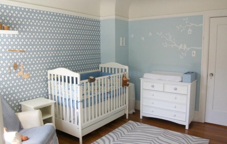 Die Besten 25+ Ideen für Babyzimmer Deko und kreative Wandgestaltung - wandgestaltung farbe kinderzimmer