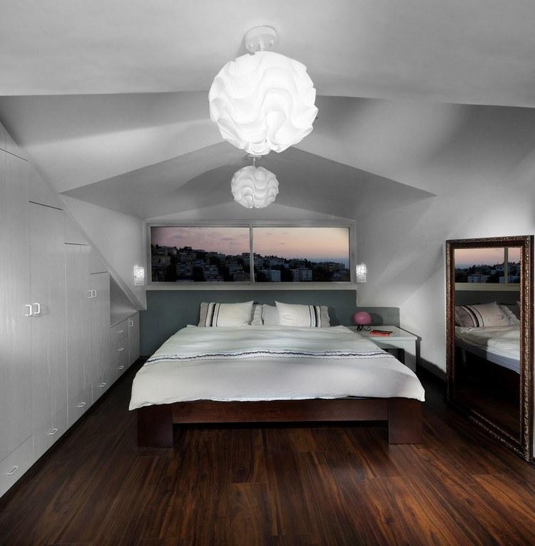 Tapete Schlafzimmer Dachschräge | Farben Für Schlafzimmer Wände