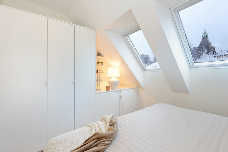 55 Dachschräge Ideen - Möbel geschickt im Raum platzieren - einbauschrank bei dachschrage mobel ideen bilder