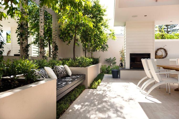 Moderne Terrassen Und Gartengestaltung 42 Bilder