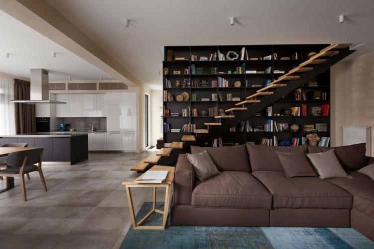 Bucherregal Designs Akzent Interieur Möbelideen - bucherregal designs akzent interieur