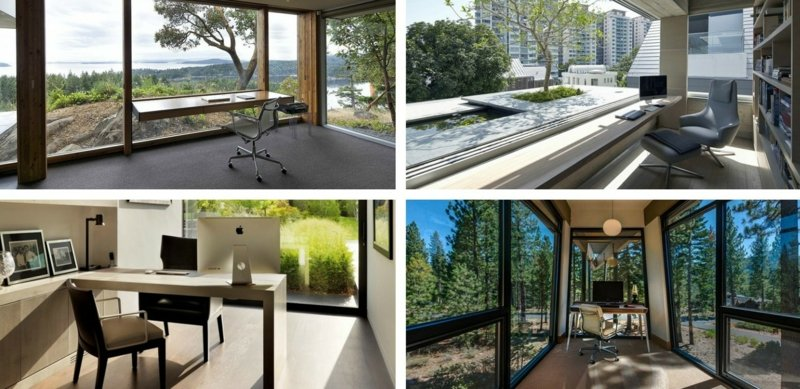 beautiful home office mit dachfenster ideen bilder pictures ... - Dachfenster Einbauen Vorteile Ideen