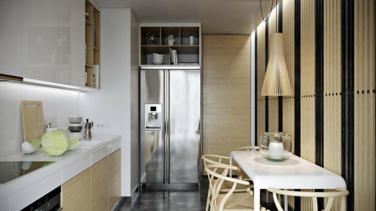 Interieur Mit Holz Lamellen Haus Design Bilder - mystical ...