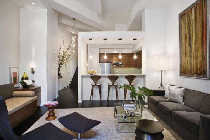 Theke Bar Wohnzimmer   offene Küche Ideen Haus Pinterest - wohnzimmer design weiss