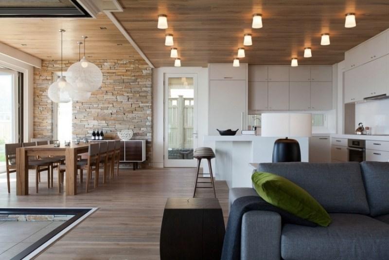 Offene Kuche Wohnzimmer Modern Images Einrichtungsideen Fr - inneneinrichtungsideen wohnzimmer kuche