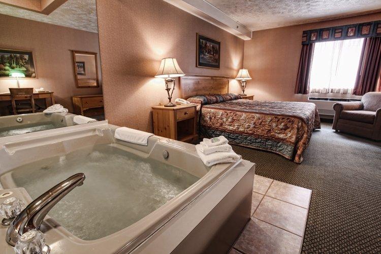 Luxus Schlafzimmer Mit Whirlpool