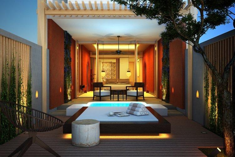 Luxus schlafzimmer mit whirlpool  Whirlpool-im-schlafzimmer-48. stylisches ferienhaus mit whirlpool ...