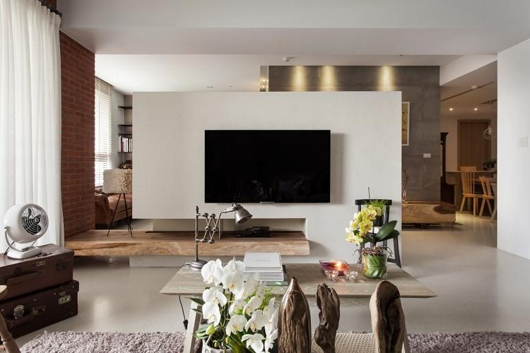 Mit Vintage Deko und Möbeln modern einrichten - 50 Ideen - wohnzimmer bilder modern
