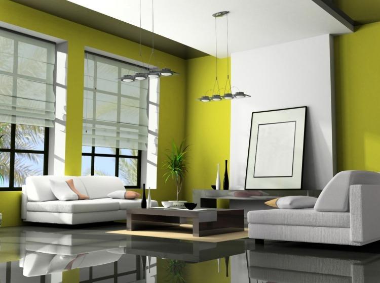 Best Wohnzimmer Gelb Grun Photos - Design & Ideas 2018 - mrshesha.com
