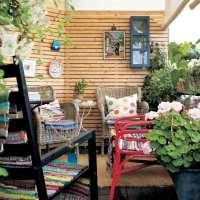 Balkon Sichtschutz aus Holz - 50 Ideen fr Balkongestaltung