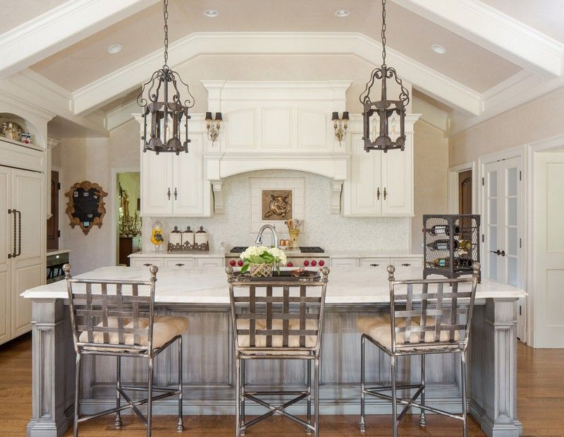 Schön Kücheneinrichtung ~ Dekoration, Inspiration Innenraum Und Möbel Ideen Mediterrane  Kucheneinrichtung Landhausmobel