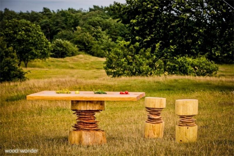 dänisches sommerhaus mit küche aus douglasie - küchendesignmagazin - danische massivholzmobel douglasie