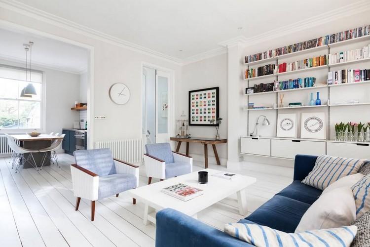 bescheiden wohnzimmer taupe ideen kleines wei grau streichen blau ... - Wohnzimmer Weis Blau