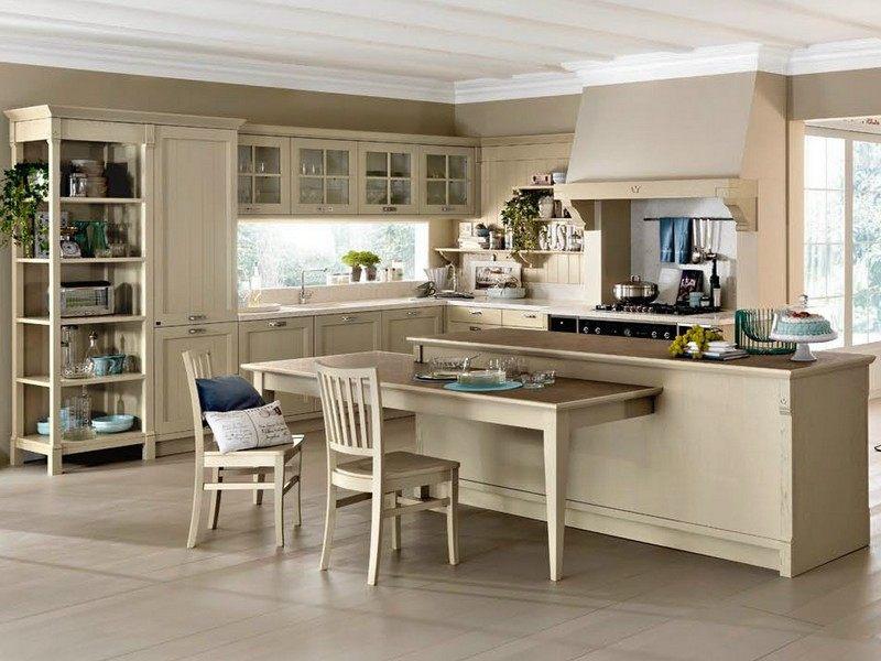 Mediterrane Kücheneinrichtung   Landhausmöbel Mit Flair   Mediterrane  Kucheneinrichtung Landhausmobel