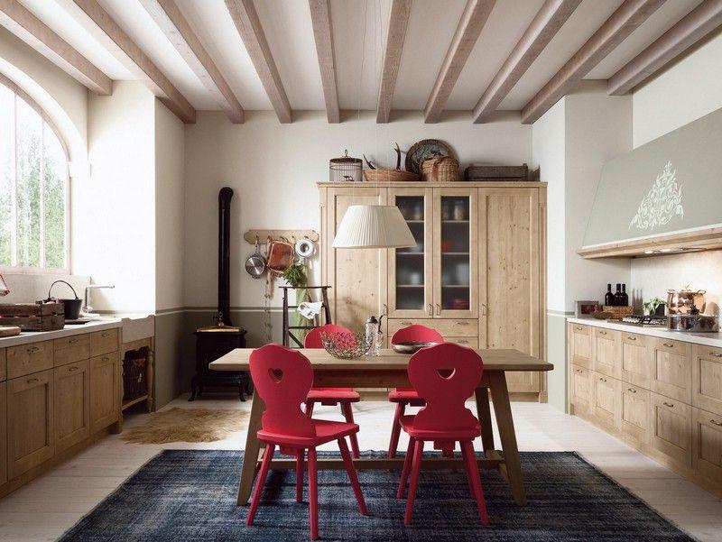 Mediterrane Kucheneinrichtung Landhausmobel - Design