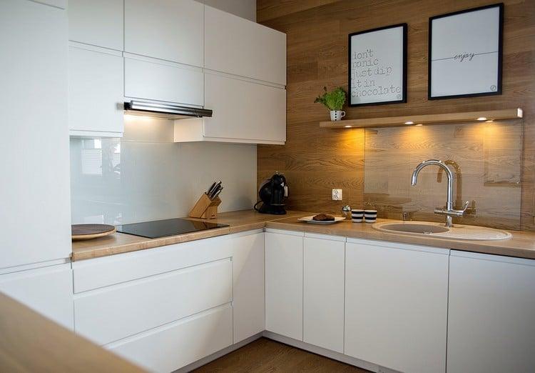 41 moderne Küchen in Eiche - Helles Holz liegt im Trend - moderne kuchen weiss holz