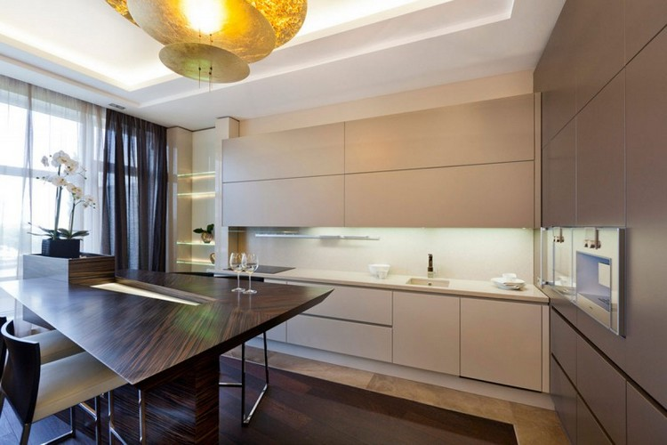 Welche Farbe für Küche 85 Ideen für Fronten und Wandfarbe - beige kuche