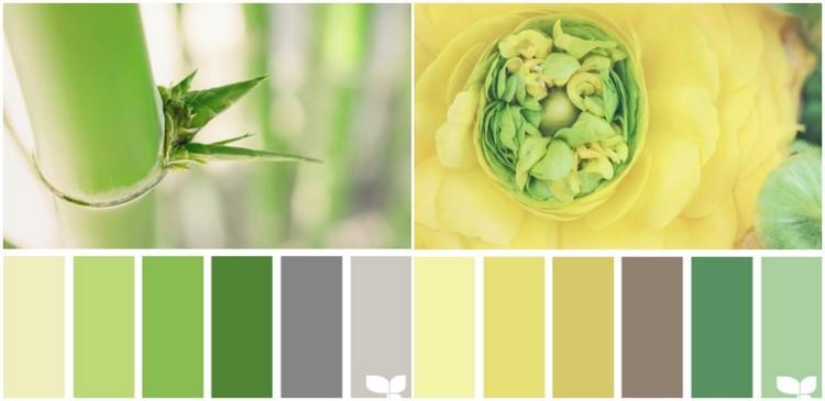 Welche Farbe für Küche 85 Ideen für Fronten und Wandfarbe - gelb grun wandfarbe
