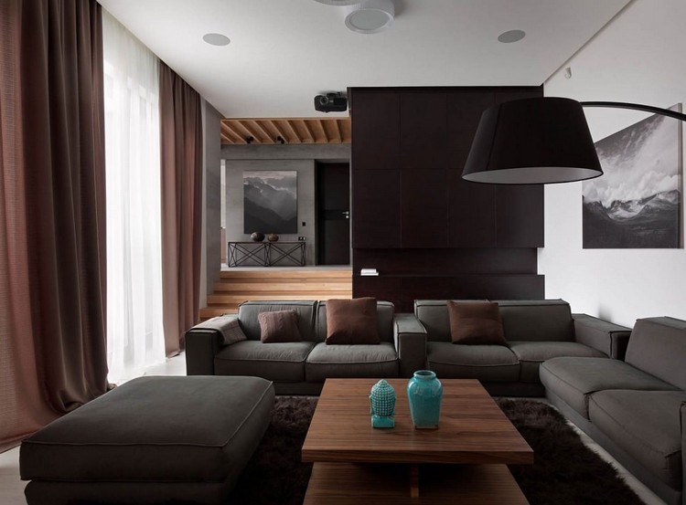 Wohnzimmer Einrichten Grau Schwarz - Design More Info Wohnzimmer Grau Schwarz