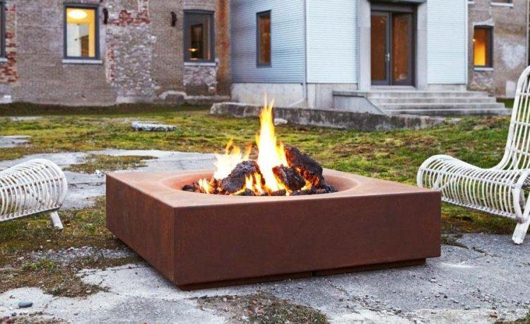 Sitzplatz Mit Feuerstelle Im Garten 50 Tipps Und Ideen. ⊚