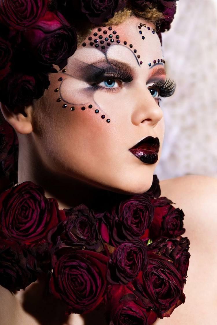 Schmink Ideen Ayvreytate Makeup Pinterest Alien Kostum Schmink