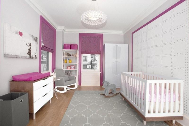 Babyzimmer einrichten - 50 süße Ideen für Mädchen - kinderzimmer gestalten madchen