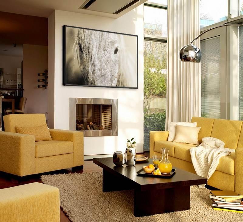 Wohnzimmer in Braun und Beige einrichten - 55 Wohnideen - wohnzimmer in braun