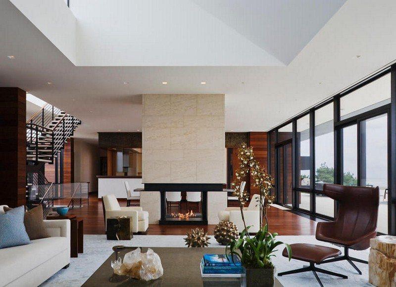 Wohnzimmer in Braun und Beige einrichten - 55 Wohnideen - wohnzimmer einrichten brauntone