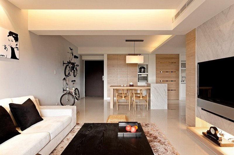 Wohnzimmer in Braun und Beige einrichten - 55 Wohnideen - wohnzimmer in braun gestalten