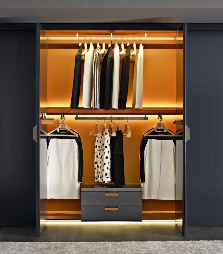 Stunning Begehbarer Kleiderschrank System Modern Pictures ...