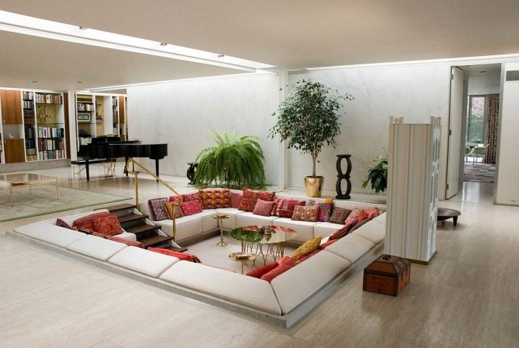 50 Einrichtungsideen für Wohnzimmer mit gemütlicher Deko - dekoration wohnzimmer bilder