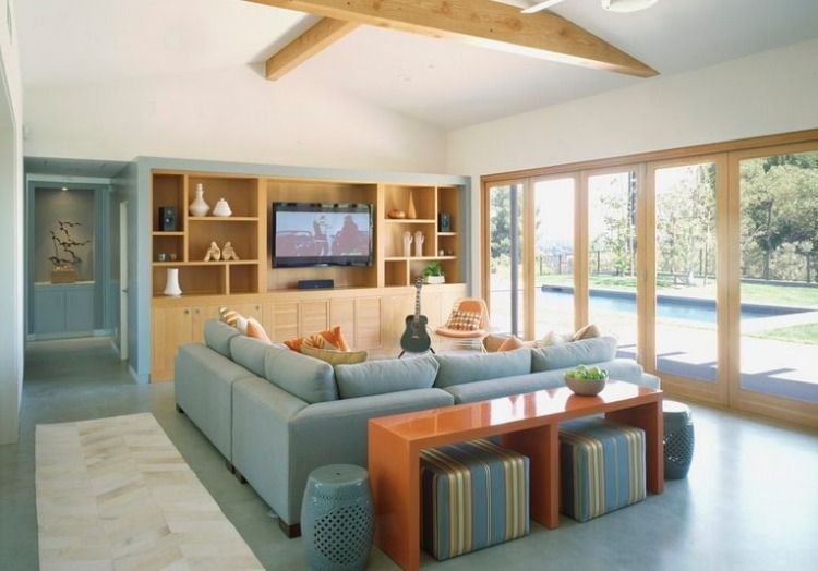 Hinter sofa. sofa mit tisch beautiful sofa tisch bucherregal die