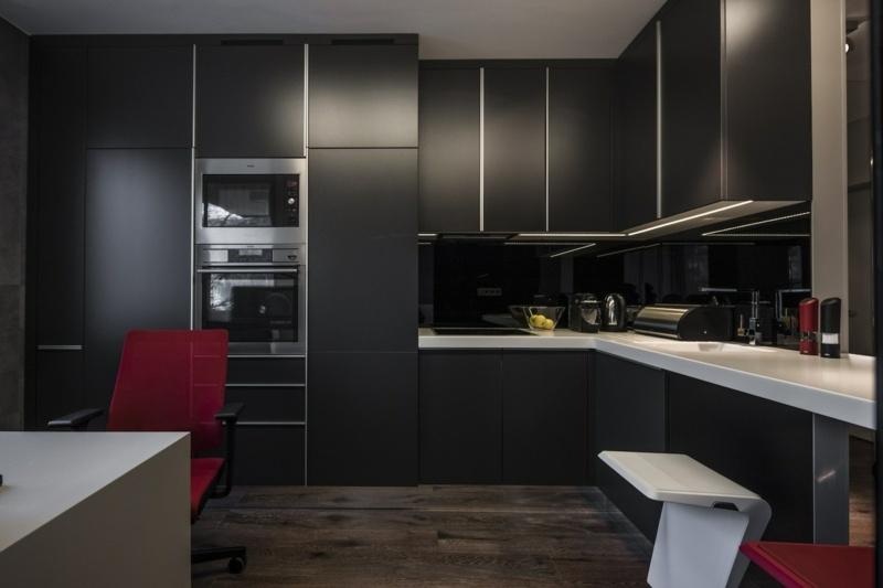 Fußboden Design Leisten ~ Alles Bild für Ihr Haus Design Ideen - schwarze kuche tipps bilder interieur