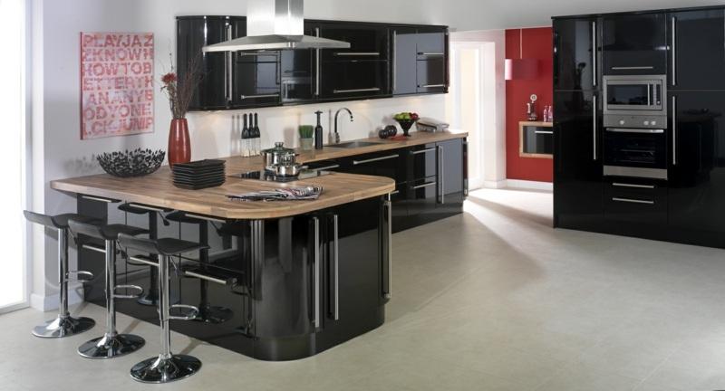 Schwarze-kuche-tipps-bilder-interieur-103 eine schwarze küche - schwarze kuche tipps bilder interieur
