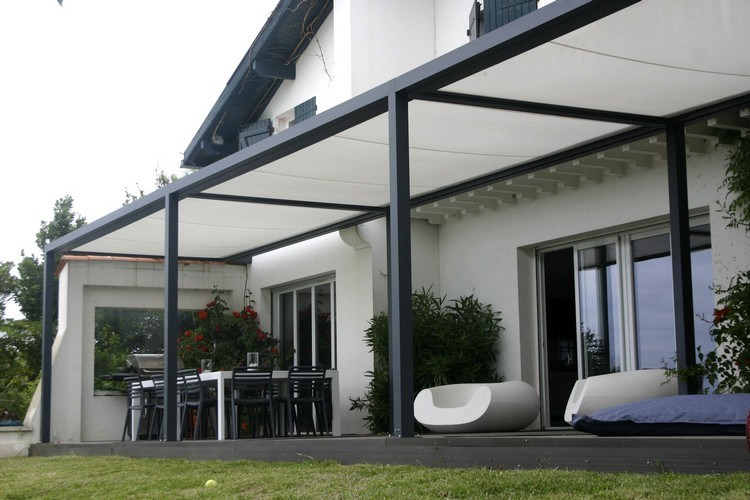 28 Ideen Fur Terrassengestaltung Dach. gabionen kann man auch als ...