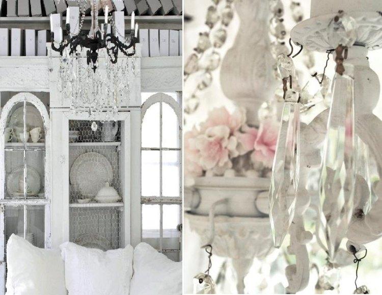 shabby chic wohnzimmer - 66 romantische einrichtungen. wohnzimmer ...