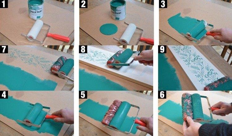 Estanterías horizontales para aprovechar el espacio y crear un - wand streichen ideen schlafzimmer selbermachen