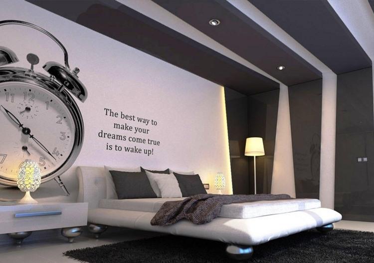 37 Wand Ideen zum Selbermachen - Schlafzimmer streichen - gestaltung schlafzimmer ideen